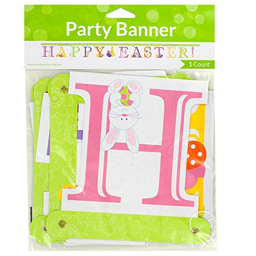 123-Wholesale Set of 48 'Happy Easter!' Jointed Party