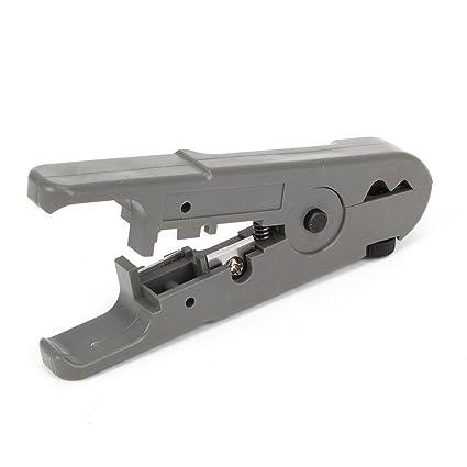 Herramienta de red Punch Down STP / UTP RJ45 CAT5 Cable Cutter Stripper CAT6 Coaxial