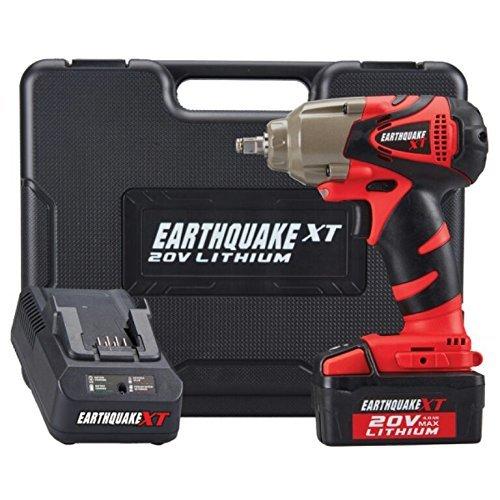 Cheap Earthquake Extreme Torque 3/8 Cordless 20 Volt Lithium Ion Impact Wrench