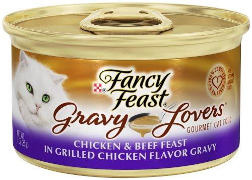 Purina Fancy Feast Wet Cat Food, Gravy Lovers, Chi…