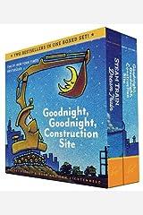 Goodnight, Goodnight, Construction Site and Steam Train, Dream Train Board Books Boxed Set (Board Books for Babies, Preschool Books, Picture Books for Toddlers) Board book