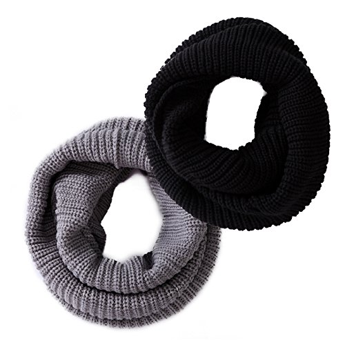 HDE Womens Winter Infinity Scarf