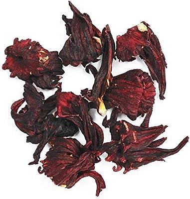 Amazoncom Hibiscus Tea 1 Lb Roselle Whole Flower Loose Leaf