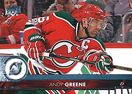Amazon.com  2017-18 Upper Deck Hockey  119 Andy Greene NJ Devils ... d4fa7b0c4