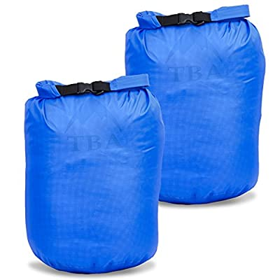 Imper 12L Dry Bag (2 Pack) Waterproof Ultra Light and Durable – PU and Silicone Treated Ripstop Nylon 2 Pack