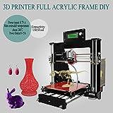 Iglobalbuy Geeetech DIY Mini Desktop 3D Printer LCD Reprap Prusa i3 MK8 Extruder Acrylic Frame MK2A Heatbed