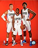 NBA Blake Griffin, Chris Paul, Deandre Jordan LA Clippers Photo (Size: 8' x 10')