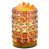 COOWOO Smart Salt Lamp, Art Deco Himalayan Hymalain Pink Salt Rock Lamps and Night Light, Works with Amazon Echo and Google Assistant, App and Voice Control On/Off and Brightness, Gift For Holidays.