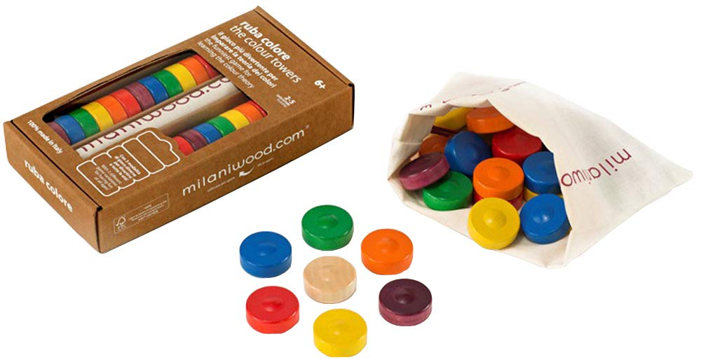 Milani Color Towers Board Game Beyond123 IM6256