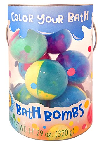 Crayola Bath Bombs Bucket 8 Count