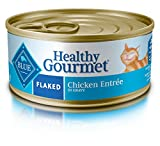 Blue Buffalo Healthy Gourmet Natural Adult Flaked Wet Cat Food 5.5-oz cans, Chicken (Pack of 24)