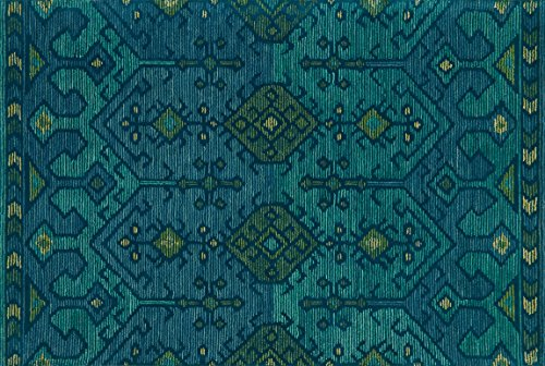 Loloi GEMOLOGY Area Rug, 5 x 7 6 , Green Teal