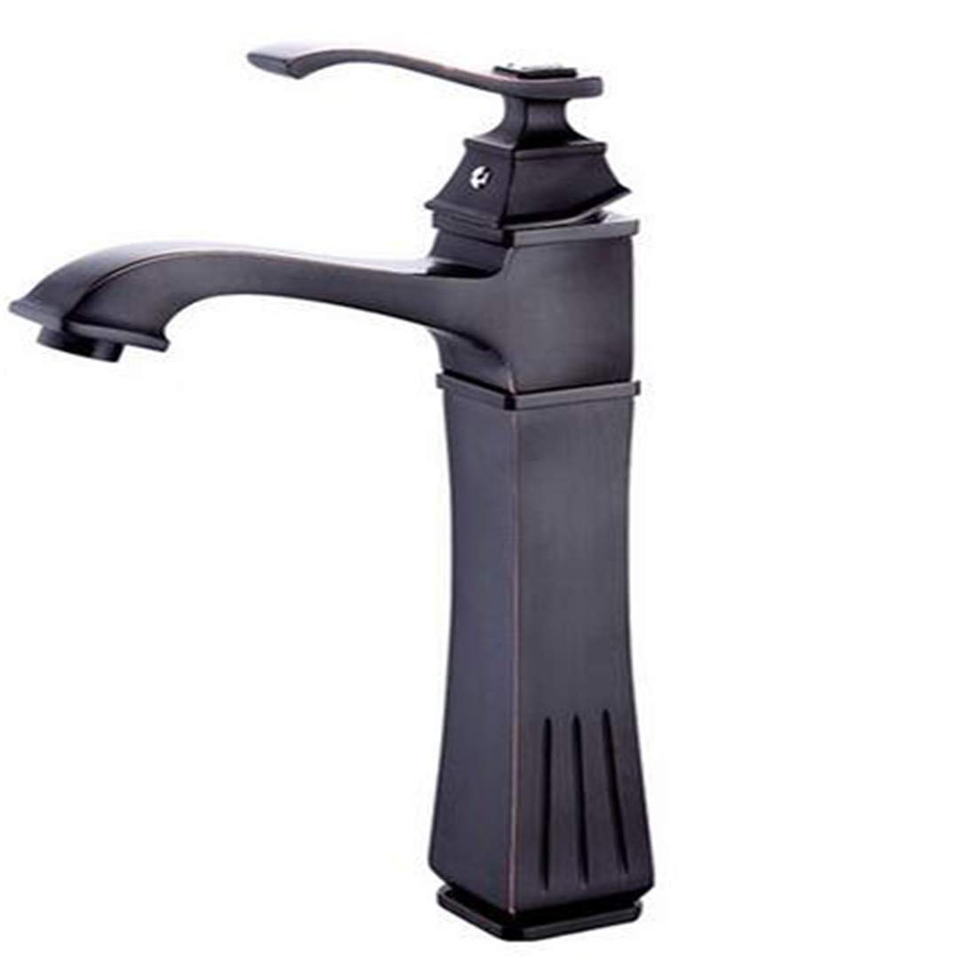 Faucets Basin Mixer Basin Faucets Antique Brass Faucet Tall Bathroom Faucet Bath Basin Mixer Tap with Hot and Cold Sink Faucet