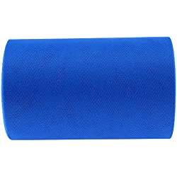 WinnerEco 15cm X 100 Yards Glitter Tulle Roll for Party Wedding Decor (Royal Blue)