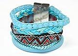 Superhai Bohemian Blue Hand-Woven Bracelets - Best Reviews Guide