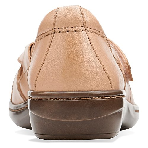 Clarks Mujeres Evianna Peal Flat Beige