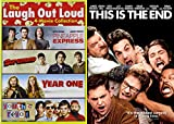 Seth Rogan + James Franco VS Michael Cera + Danny McBride: Pineapple Express/Superbad/Year One/ Youth In Revolt & This is The End 5-Film DVD Feature Bundle