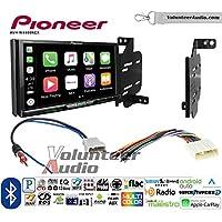 Volunteer Audio Pioneer AVH-W4400NEX Double Din Radio Install Kit with Wireless Apple CarPlay, Android Auto, Bluetooth Fits 2011-2014 Nissan Juke