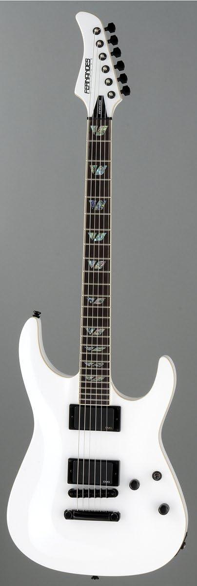 Revolver Fernandes – Guitarra eléctrica – color blanco: Amazon.es ...