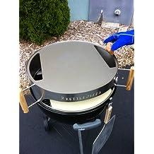 "KettlePizza Baking Steel - Steel Skillet/Lid for 22.5"" Kettle Grills"
