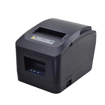 Impresora de Recibos térmicos MUNBYN USB 31/8 80 mm con ...