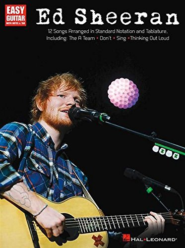 Ed Sheeran for Easy Guitar: Easy Guitar with Notes & Tab (Easy Guitar Play Along) Ed Rocks