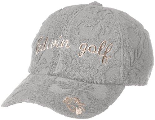 不良資金規制する(エドウィンゴルフ) EDWIN GOLF パイルフラワー ジャカード キャップ