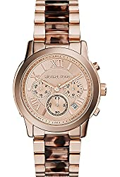 Michael Kors Women's Cooper Watch - Two tone/Rose Gold