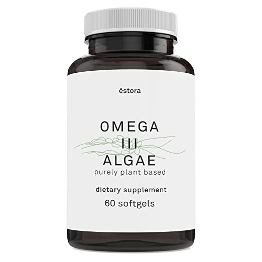 ÉSTORA Omega 3 DHA Algae Vegan Oil Supplement