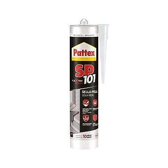 Pattex SP101 Original, Adhesivo Sellador para Interiores y Exteriores, Polímero Sellador Blanco Multimaterial, Sellador de Juntas en Cartucho, 1 x 280 ml: Amazon.es: Industria, empresas y ciencia