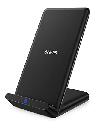 d3471f1aa5294 Anker Wireless Charger, Qi-Certified Wireless Charging Stand, Compatible iPhone  XS Max/