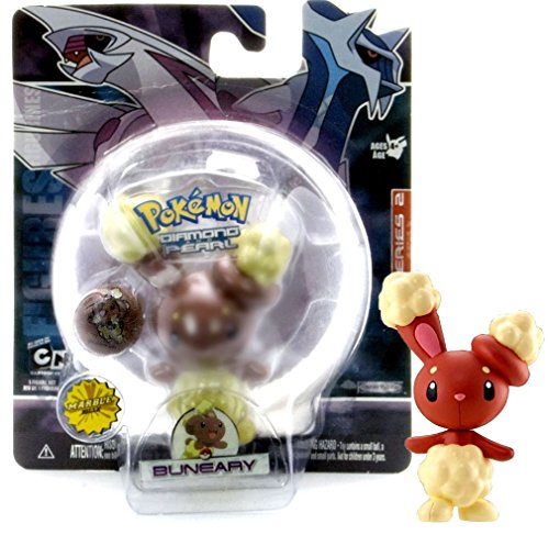 - Pokemon Diamond & Pearl Series 2 Single Pack: Buneary with Exclusive Marble