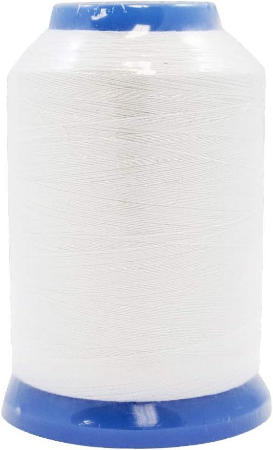 Janome Embroidery Bobbin Thread White in 1600m Spools