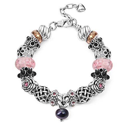 Eliana and Eli Mother Daughter Friendship Charm Bracelet Jewelry -