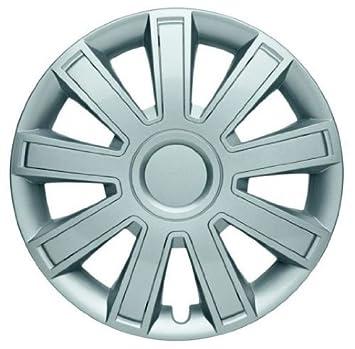 4 Tapacubos Tapacubos tipo Arrow Lux Plata apta para llantas de acero Citroen 14 pulgadas: Amazon.es: Coche y moto