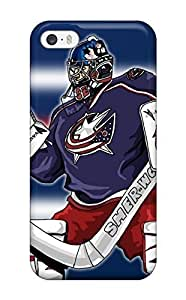 meilinF000First-class Case Cover For iphone 5/5s Dual Protection Cover Columbus Blue Jackets Hockey Nhl (25c)meilinF000