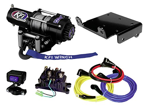 KFI Combo Kit - A2000 Winch & Winch Mount - 2008-2018 Suzuki LTA750 King Quad 750 - All Models A2000 Winch