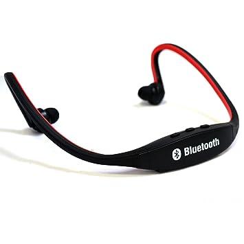 SEG Grobal Auricular Bluetooth para deportes Inalambrico Sport Stereo estéreo sin hilos Auriculares Manos Libres para Correr Auricular para llamadas de ...