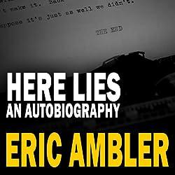 Here Lies - An Autobiography