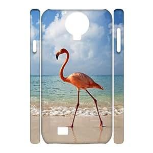 ALICASE Diy Case Flamingos Cover For Samsung Galaxy S4 i9500 [Pattern-1]