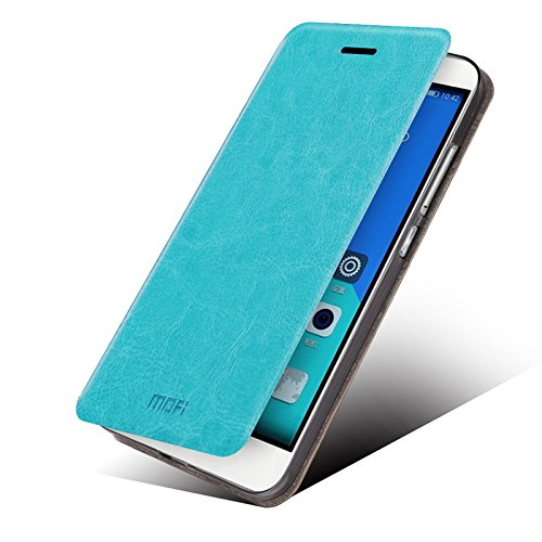 Huawei Honor 4c Case - Asmart Stand Pu Leather Cover Soft TPU Back Case Shell for Huawei Honor 4c (Blue)