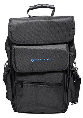 Rockville 25-Key Case Soft Carry Bag Backpack For Impulse+Launchkey 25 Keyboards from Rockville
