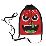 Lanhui Flying Toys Finger Shooting Kite For Kids Outdoor Yard Games and Activities Memorable Summer Fun toy (red, 21.71.533cm)