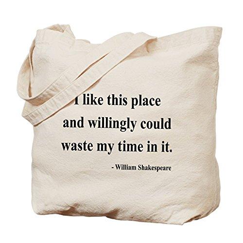 CafePress–Shakespeare 15–Gamuza de bolsa de lona bolsa, bolsa de la compra