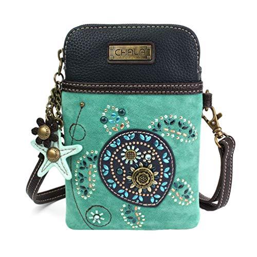 Lovers Dazzled Crossbody Turtle Turtle Sea Handbag Cellphone Chala Z8UqT