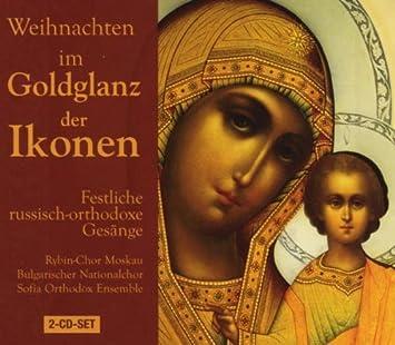 Weihnachten Orthodox.Weihnachten Im Goldglanz Der Ikonen Festlich Russisch Orthodoxe