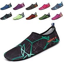 Mens Womens Water Skin Shoes Quick Dry Aqua Socks Barefoot Shoes for Beach Swim Surf Yoga
