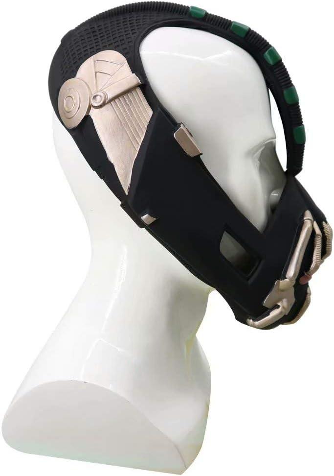 Cosplay Kost/üm f/ür Erwachsene PVC Bane Replica Helmmaske Dark Knight Rise Bane Mask Spielzeug