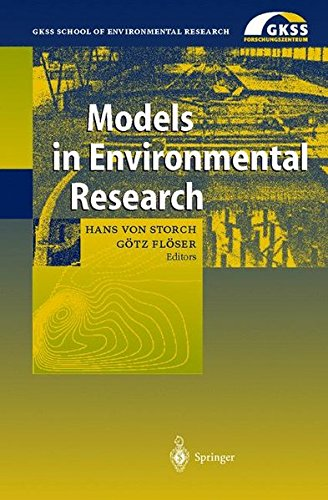 Models in Environmental Research (GKSS School of Environmental Research) ebook