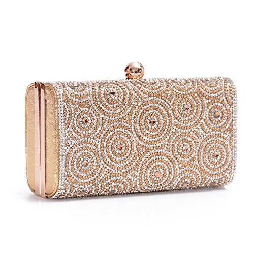Womens Evening Clutch Bag Wedding Purse Bridal Prom Handbag Party